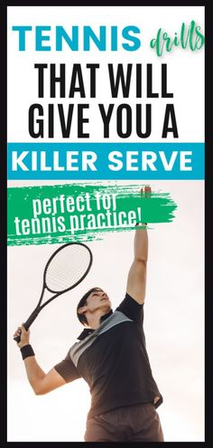 Try these tennis drills to improve your serve. By introducing these drills during your tennis practice you will help improve strength and accuracy when it comes to your serve. Tennis Bag, Tennis Gifts, Tennis Racket, Tennis Serve, Tennis Match, Tennis Workout, Maria Sharapova, Mind Body Soul, Sport Motivation