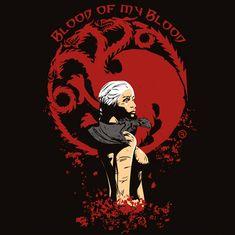 Daenerys T-Shirt Art by AdamsPinto.deviantart.com on @DeviantArt