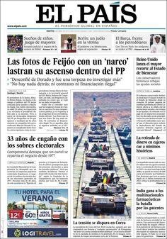 Los Titulares y Portadas de Noticias Destacadas Españolas del 2 de Abril de 2013 del Diario El País ¿Que le parecio esta Portada de este Diario Español?