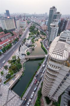 Zhangjiagang Town River Reconstruction by Botao Landscape