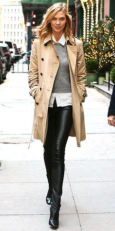 Your eyes aren't deceiving you: Karlie is wearing the infamous Tamara Mellon boot-leggings also worn by Kim Kardashian. ...