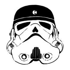Trooper-krane (by #krane) Crane, Darth Vader, Skull, Sugar, Fictional Characters, Fantasy Characters, Skulls, Sugar Skull