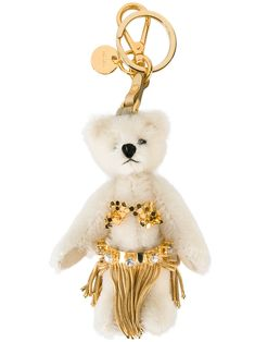 cd8fa4ae374271 Prada bear charm keyring Gold Bikini, Prada Bag, Key Fobs, Calf Leather,