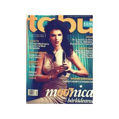 Monica Barladeanu as Bond Girl on the cover of Tabu magazine, Film issue, October 2007. Rolex project, a fashion & marketing project.  The team: Cristina Bazavan, Editor in Chief, Catinca Roman, Editor in Chief; Cosmin Gogu, photographer. Rovena Andrei, styling; Cristina Trohani, hair style; Narcisa Simandan, make up; Cristian Petrescu, production; Vali Crisbasan, art director; Eli Ranetescu, sales; Noemi Meilman, marketing manager and the idea provider.