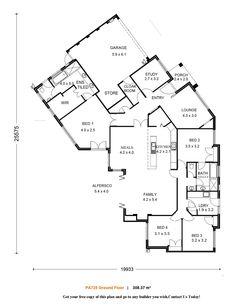 160 best Floor plans images on Pinterest   Floor plans, Future house ...