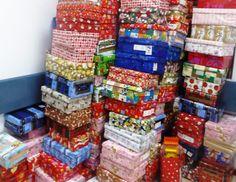 Cadouri pentru copii, in cadrul campaniei ShoeBox