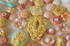 Edible decorationscandy by marionsvintagebakery on Etsy, $70.00