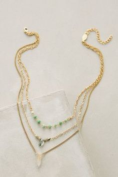 Anthropologie Astree Layered Necklace #anthrofave