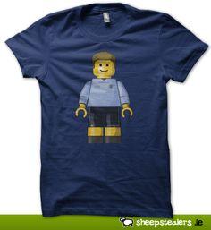 Dublin GAA Lego Minifig. GAA T-Shirt Ireland. Dublin, Sticks, Boats, Ireland, Irish, Lego, Adventure, Mens Tops, T Shirt