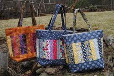 Mary Elizabeth Tote Bag  via Craftsy