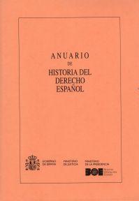 Anuario de historia del derecho español