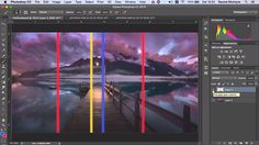 How to deal with difficult panoramic image stitching in Photoshop the easy way - DIY Photography