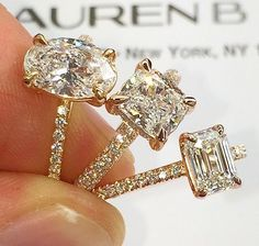 Lauren B Jewelry is my absolute favorite ring designer. I would love any of her designs!