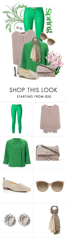 """nr 987 / Spring is coming..."" by kornitka ❤ liked on Polyvore featuring MICHAEL Michael Kors, Steffen Schraut, Marella, Chloé, Paul Green, Gucci, LeiVanKash and Sylvia Alexander"