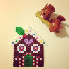 Gingerbread house - Christmas hama beads by kunduzcum