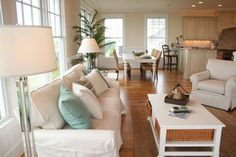 beachy family rooms - Google Search coffee table