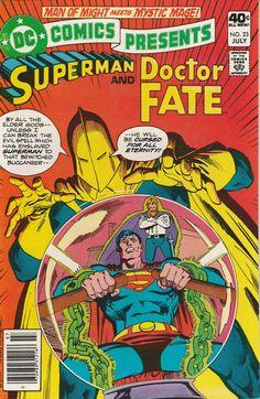 DC Comics Presents Vol. 3 No. 23 1980 Superman and Doctor Fate by TheSamAntics