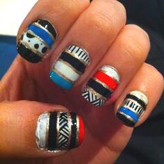 My newest nails