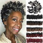 Kanekalon Braids Jamaican Bounce Curly Short Spring Twist Loops Crochet Hair LCY   eBay Short Curly Crochet Hair, Ombre Crochet Braids, Curly Short, Crochet Braids Hairstyles, Braided Hairstyles, Afro Braids, Short Braids, Crochet Hair Extensions, Braid In Hair Extensions