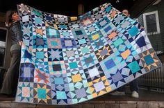202239839490959238 sawtooth star quilt