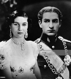 Mohammad Reza Pahlavi, the Shah of Iran, with his fiancee Princess Fawzia of Egypt. Get premium, high resolution news photos at Getty Images Farah Diba, Royal Life, Royal House, Fawzia Fuad Of Egypt, Pahlavi Dynasty, The Shah Of Iran, Teheran, Old Egypt, Casa Real