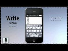 Write for iPhone - A Dropbox based Notes App