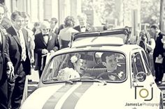 Chasing Rainbows Kissing Frogs: Fiat 500 Wedding Car