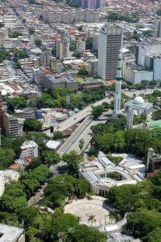 Plaza de Los Muses Los Caobos,Caracas,Venezuela.