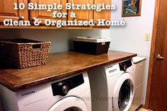 A realistic look at running a home filled with small children!  Arena Five: 10 Simple Strategies for a Clean and Organized Home