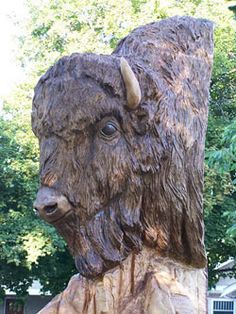 Tree Carving Art - Google Search