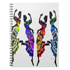 African Foot Dance Note Books