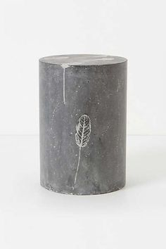 """Do you think they might be making a """"little"""" profit on these?  Anthropologie - Fallen Leaves Cement Stool"""