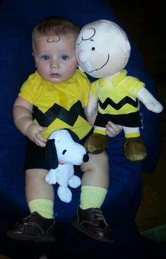 Infant Halloween Costume Charlie Brown