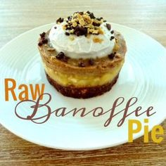 Raw Banoffee Pie