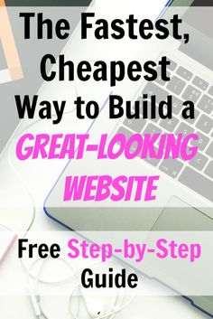 Trying to build a website doesn't have to be frustrating! Here's the fastest, cheapest way to get a great-looking site online and not be kicking yourself down the road. Work From Home Jobs, Make Money From Home, How To Make Money, Online Earning, Online Jobs, Easy Money Online, Online Business, Business Education, Business Entrepreneur