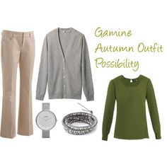 """Gamine Autumn Outfit Possibility"" by jeaninebyers on Polyvore"