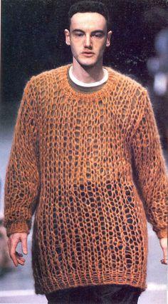 Comme Des Garcons Menswear Fall Winter 1991