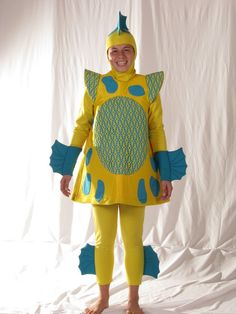 35 Best Ideas Diy Flounder Costume - Home DIY Projects Inspiration Pirate Halloween Costumes, Couple Halloween Costumes For Adults, Couple Costumes, Turtle Costumes, Halloween Parade, Halloween Ideas, Flounder Costume, Crab Costume, Broadway Costumes