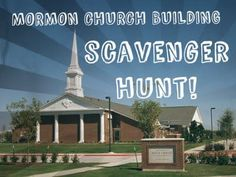 Mormon Church Building Scavenger Hunt with rules and clues included! For scouts or Activity Days fun. Mutual Activities, Young Women Activities, Activities For Girls, Church Activities, Group Activities, Therapy Activities, Activity Day Girls, Activity Days, Ward Activity Ideas