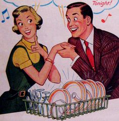 Vintage Magazine Grocery Ads - Dreft Dish Soap from McCalls March 1951