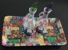 Artesanato com bandejas de isopor - Artesanato na Rede