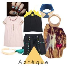 Aztèque, created by mediumfashiongallery on Polyvore