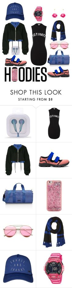 """""""gym rat"""" by moestesoh ❤ liked on Polyvore featuring Forever 21, Sans Souci, Unravel, Marni, Rebecca Minkoff, ban.do, SOREL, Roxy, Casio and Aurélie Bidermann"""