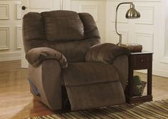 Darnely Chocolate Swivel Rocker Recliner, /category/living-room/darnely-chocolate-swivel-rocker-recliner.html