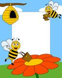 Cartoon Bees Photo Frame [1] - Download From Over 64 Million High Quality Stock Photos, Images, Vectors. Sign up for FREE today. Image: 9406419