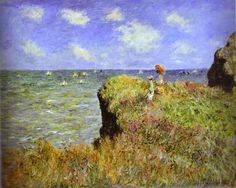 """ I know that to paint the sea really well, you need to look at it every hour of every day in the same place so that you can understand its way in that particular spot and that is why I am working on the same motifs over and over again, four or six times even."" Claude Monet"