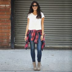 TOMS Desert Wedge! Perfect compliment to a fall outfit