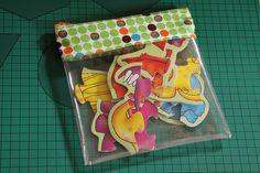 Clear vinyl zipper pouch -- sewing tutorial