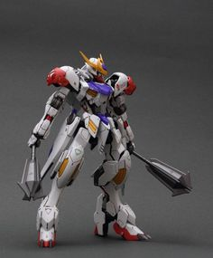 HG 1/144 Gundam Barbatos Lupus - Customized Build     Modeled by Soma