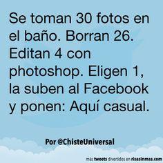 """Fotos """"casuales"""". #humor #risa #graciosas #chistosas #divertidas"""